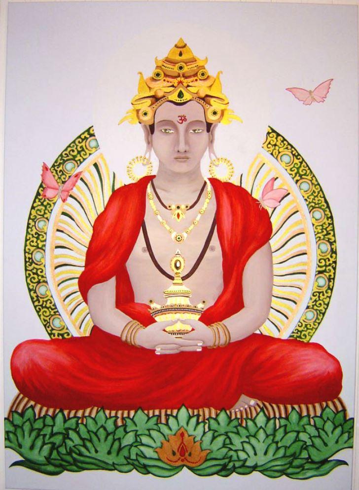 Buddha - Karma A. Mahajan (Kö. * 2004) : verkauft