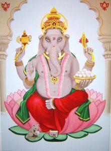 Ganesha - Karma A. Mahajan (Kö. * 2004) : verkauft