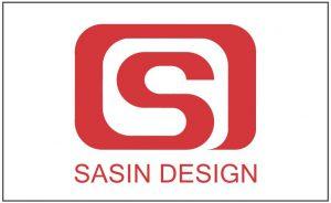 Sasin Design, Logo 001, Karmesin Rot (IFOG *2004)