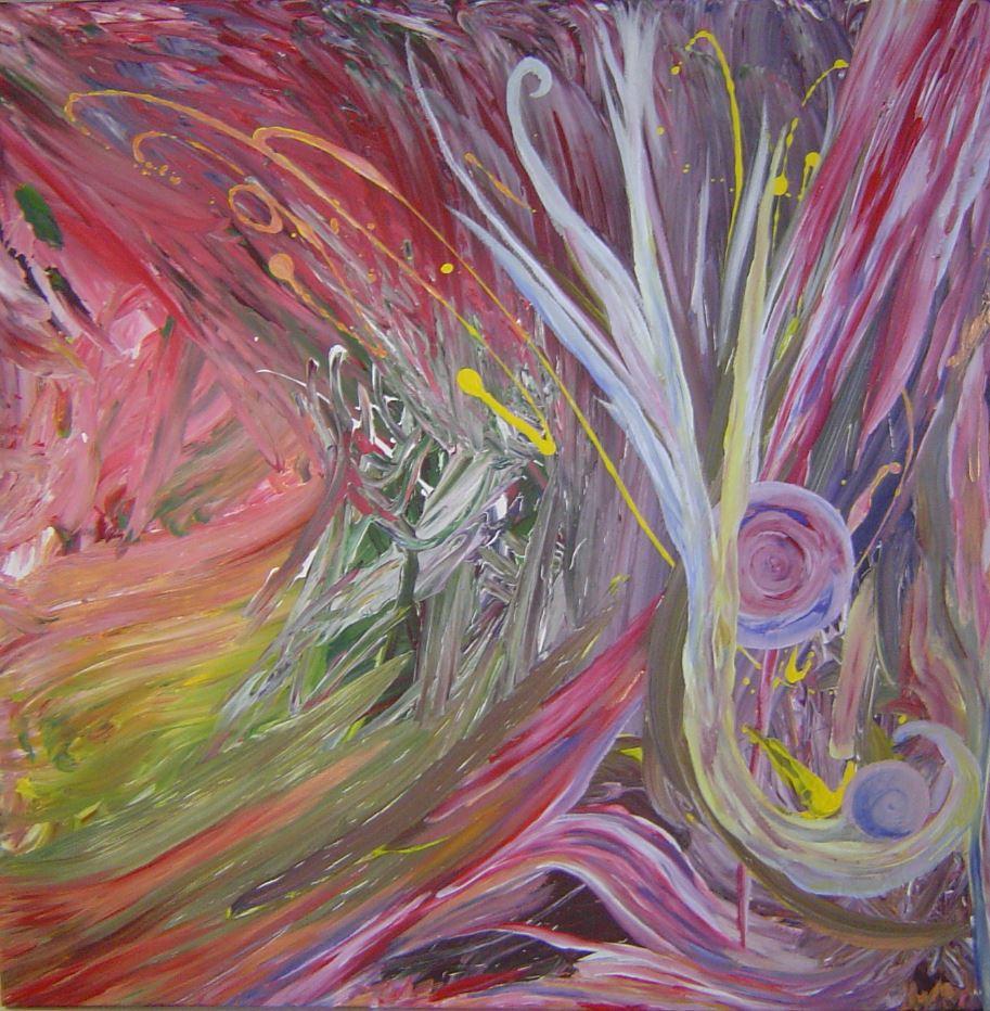 Extase, Step II - Acryl (Atelier Riesch 4, 2010)