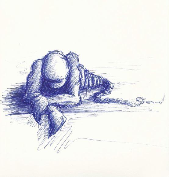 Have a break. - Kugelschreiber (MUC, 2008)