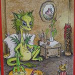 Jurix Mischu - Holzstiftzeichnung/ colored original (OvTG, 2003/*2006)