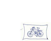 Fahrrad - Kugelschreiberzeichnung (Kö., 2000)