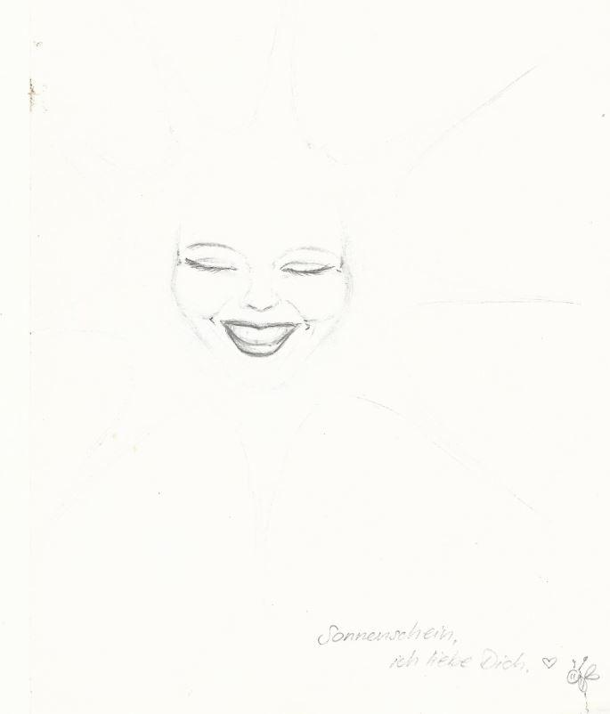 Sanne-Sonnenschein - Zeichnung (OvTG)