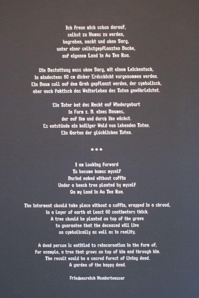 Friedenreich Hundertwasser (* 1923 - 2000)