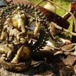 Würmaktion, März 2017, an der Remise, Ganesha, Bild 03