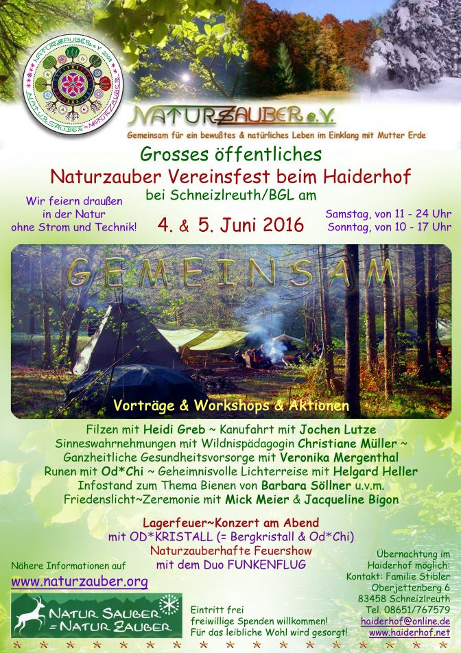 Naturzauber Vereisfest 2016