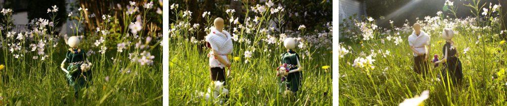 2018-04-24-Jura begegnet Javala im Garten - 3 Bilder