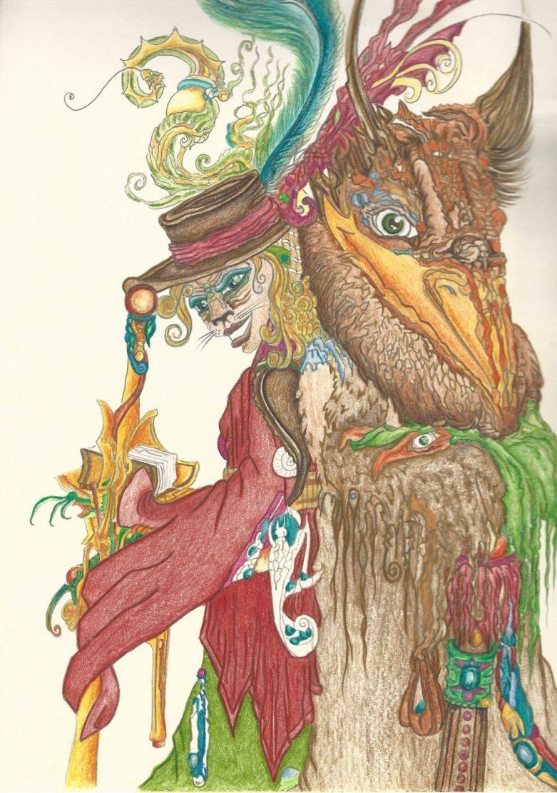 Vogelbär, Petri und CatRa